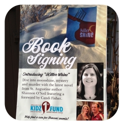 Book Signing Sign