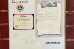 My Third Grade FSU Acceptance Letter
