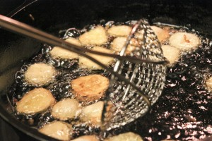 The Frying Pickles Process