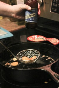 Beer Goes With Frying Pickles