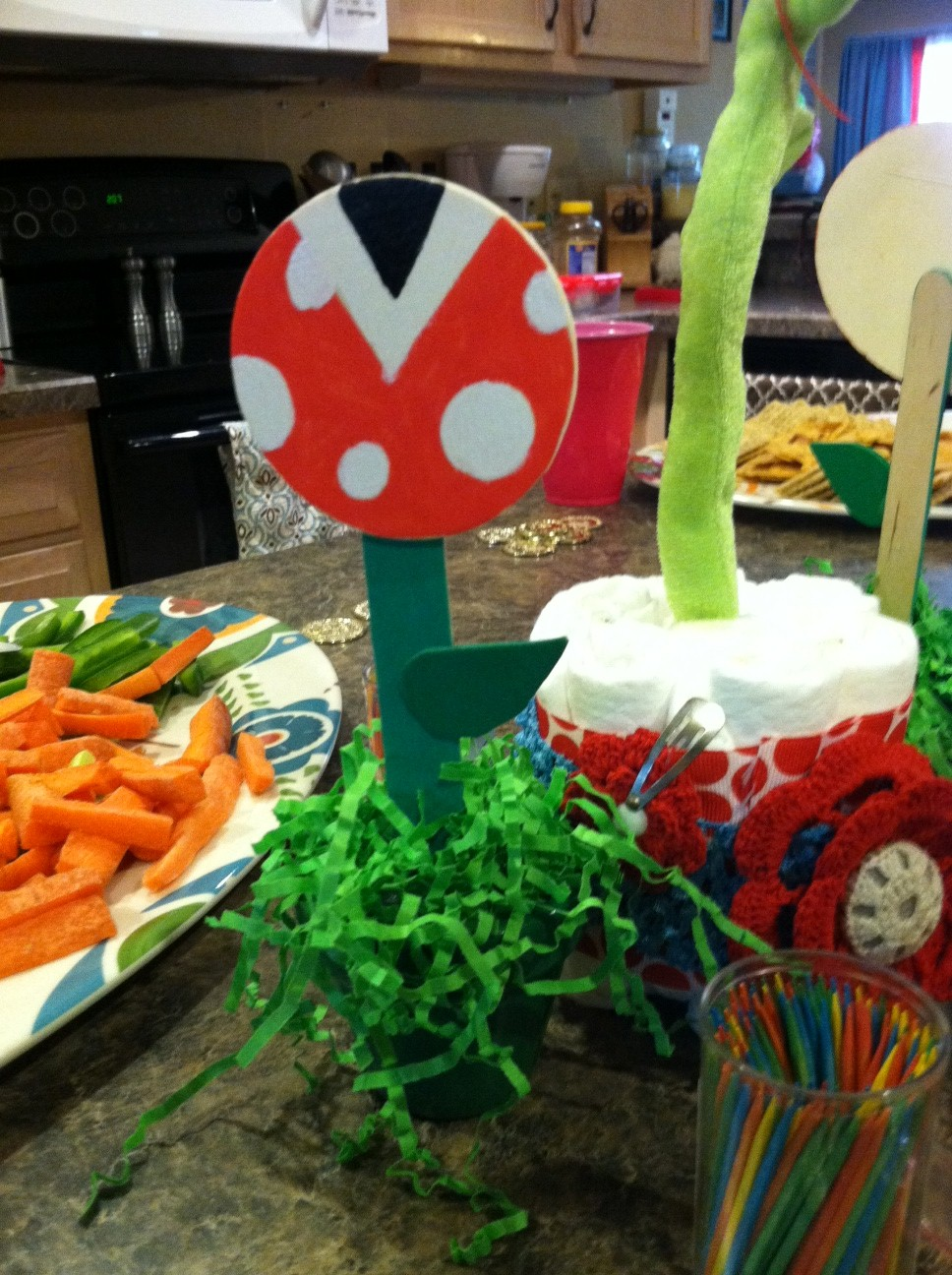 Super Mario Baby Shower Decorations Shannon Oneil