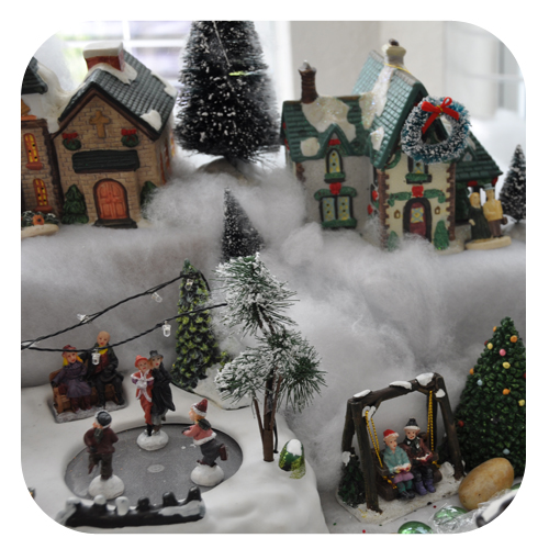 most - Miniature Christmas Town Decorations