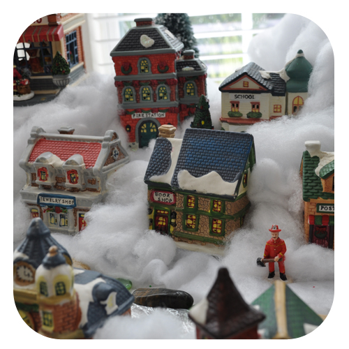 five - Miniature Christmas Village