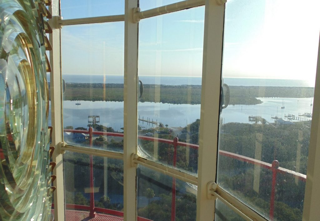 View from the St. Augustine Lighthouse Lens Room