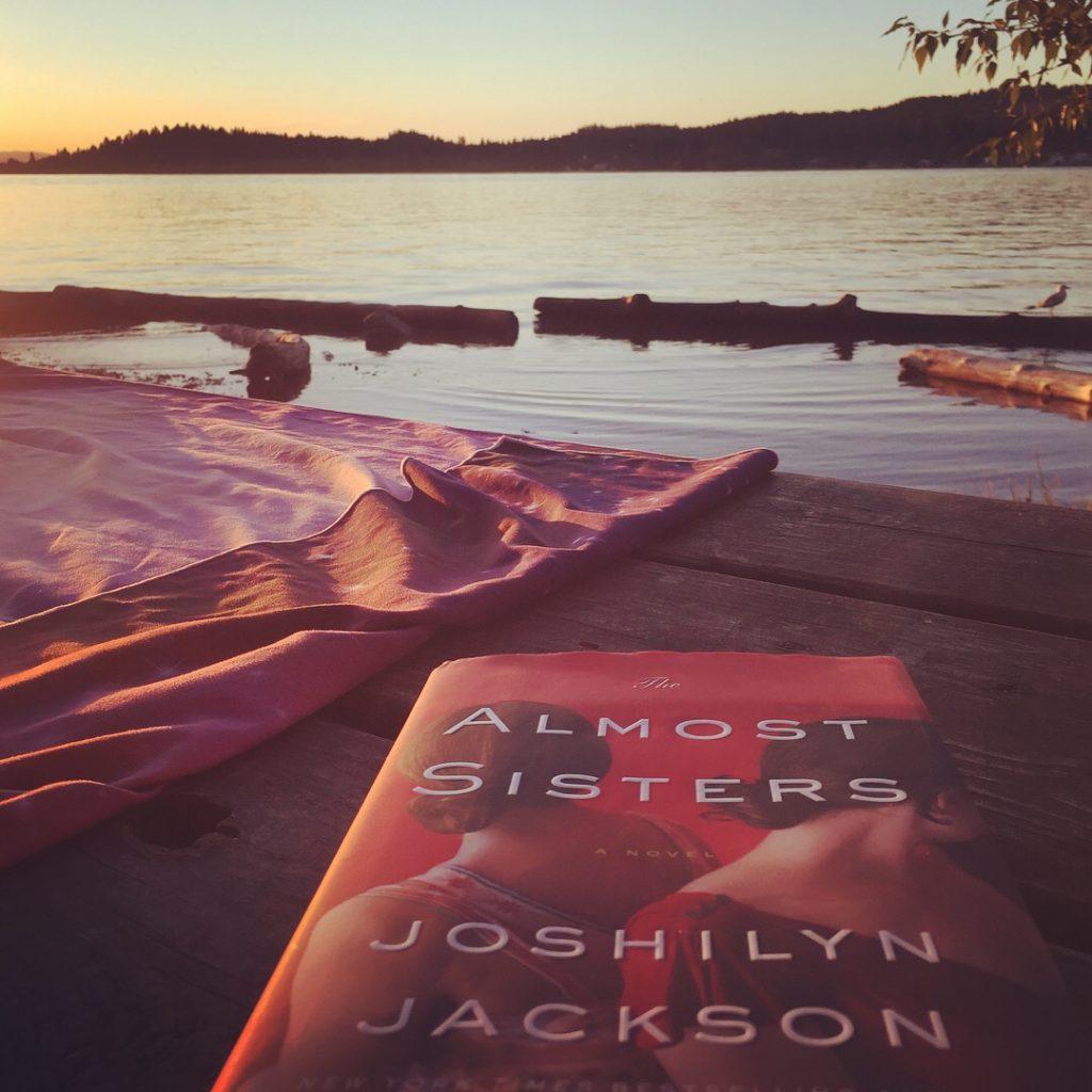 Reading at Flathead Lake