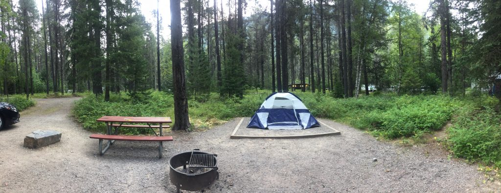 Apgar Campground Glacier National Park