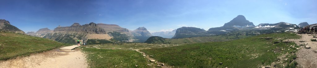 Panoramic Views Glacier National Park