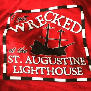Wrecked St Augustine Lighthouse