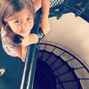 Climbing the St Augustine Lighthouse
