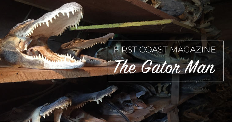 The Gator Man: A True St. Augustine Legend