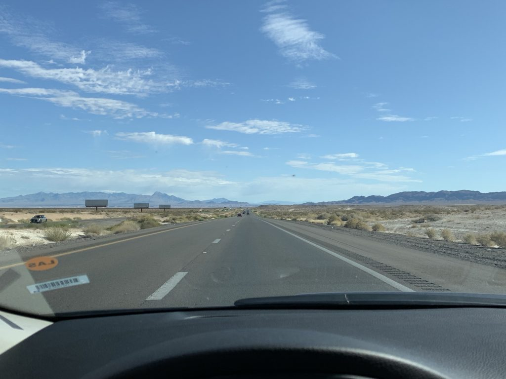 Driving from Vegas to Grand Canyon