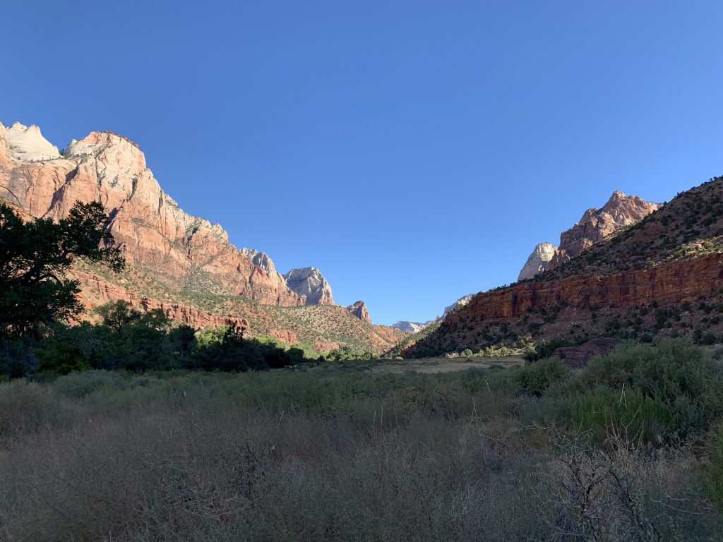 Zion Canyon in Zion National Park