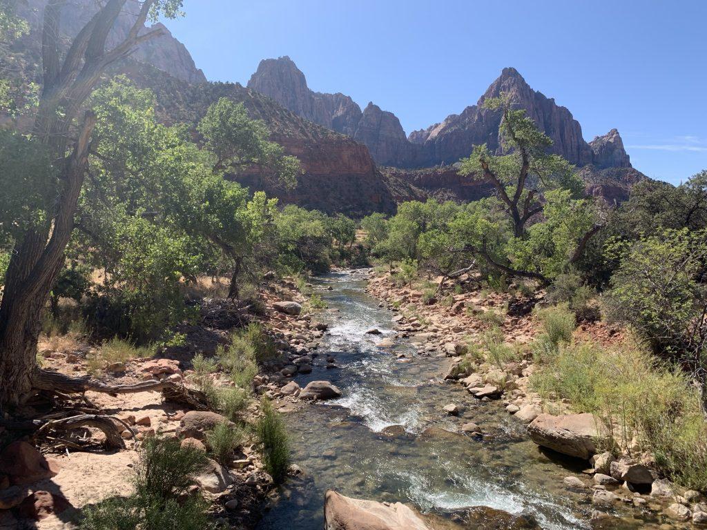 Vistas of Zion National Park