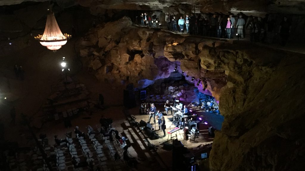 Lone Bellow at the Cumberland Caverns