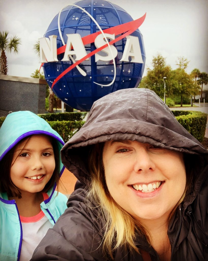 Visiting KSC in a Tropical Storm