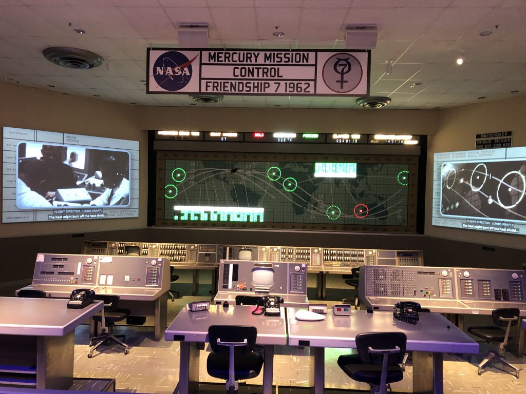 Mission Control for Friendship 7 Launch
