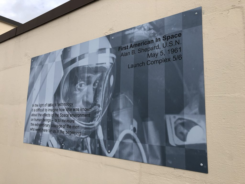Alan Shepard Quote at Cape Canaveral