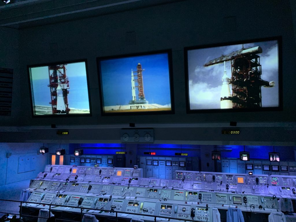 Apollo Mission Control at Kennedy Space Center