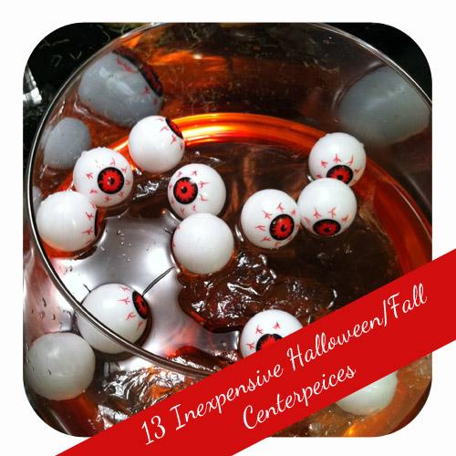 13 Inexpensive Halloween Centerpieces